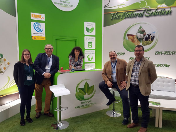 Stand Componentes European Natural Additives en Figan 2017